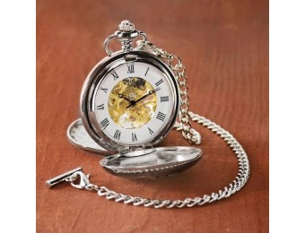 88% off As Time Goes By Pocket Watch