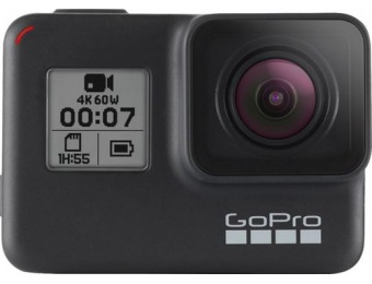 $70 off GoPro HERO7 Black HD Waterproof Action Camera