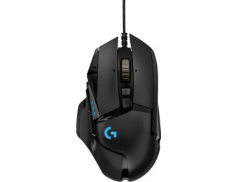 $45 off Logitech G502 HERO Gaming Mouse with RGB Lighting