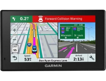 "$100 off Garmin DriveAssist 51 LMT-S 5"" GPS with Built-In Camera"