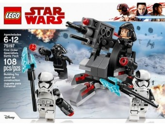 47% off LEGO Star Wars First Order Specialists Battle Pack 75197