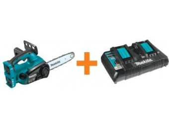 "$119 off Makita 18-V X2 (36-Volt) LXT Lithium-Ion 12"" Chain Saw"