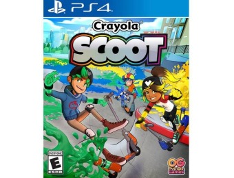 65% off Crayola Scoot - PlayStation 4