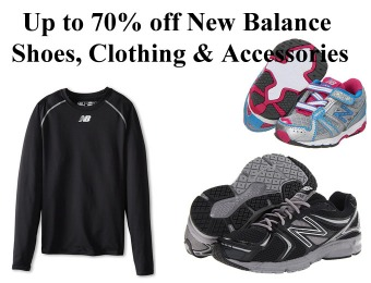 Up to 70% off New Balance Shoes, Clothing & Accessories