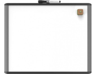"48% off U Brands Mod Dry Erase Board, 20"" x 16"""