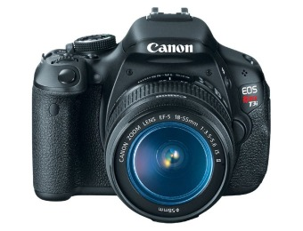 $537 off Canon EOS Rebel T3i 18MP Camera w/ 18-55mm Lens