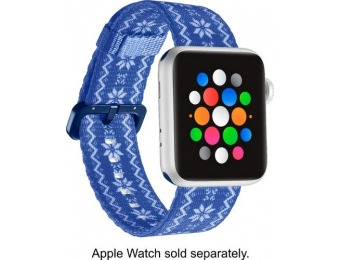 60% off Dynex Holiday Snowflake Nylon Band for Apple Watch