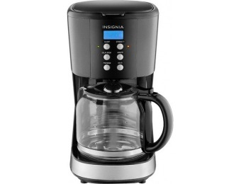 50% off Insignia 12-Cup Coffee Maker