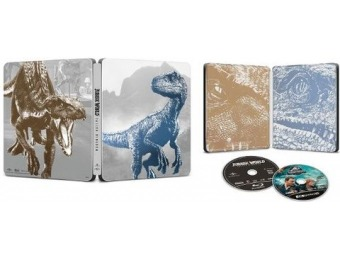 63% off Jurassic World: Fallen Kingdom [SteelBook] (4K Blu-ray)