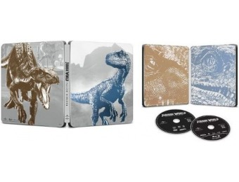 69% off Jurassic World: Fallen Kingdom [SteelBook] (Blu-ray/DVD)