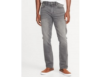 50% off Slim 24/7 Built-In Flex Gray Jeans for Men