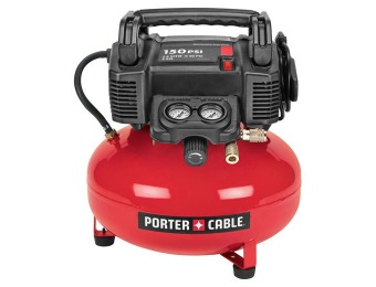 $224 off Porter-Cable C2002 6-Gal 150-PSI Electric Air Compressor