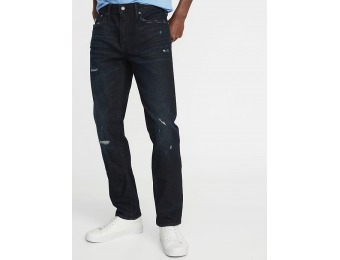 50% off Slim Built-In Flex Distressed Jeans for Men