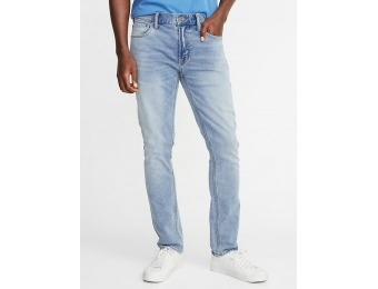 50% off Skinny 24/7 Built-In Flex Jeans for Men