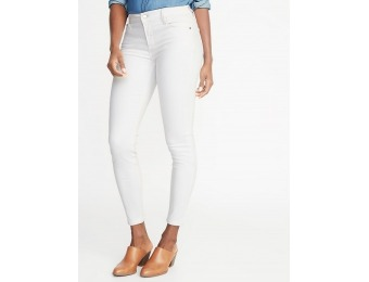 50% off Mid-Rise Clean-Slate Sculpt Rockstar Super Skinny Ankle Jeans