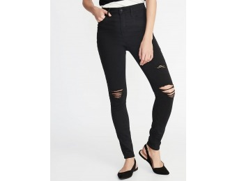 50% off High-Rise Secret-Slim Pockets Distressed Rockstar Jeans