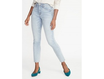 50% off High-Rise Secret-Slim Pockets Power Straight Ankle Jeans