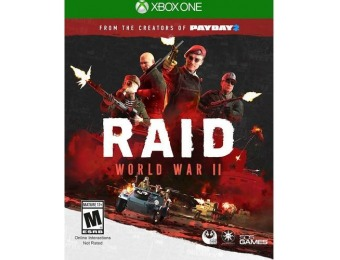 84% off Raid: World War II - Xbox One