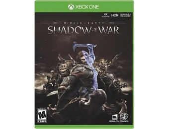 75% off Middle Earth: Shadow of War - Xbox One