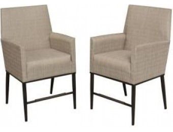 $263 off Hampton Bay Aria Patio High Dining Chairs (2-Pack)