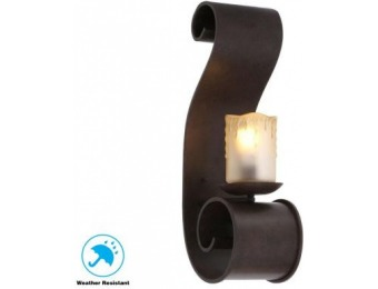 80% off Adelaide Collection Outdoor Bronze Large Sconce