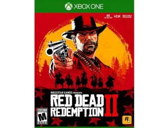 50% off Red Dead Redemption 2 - Xbox One