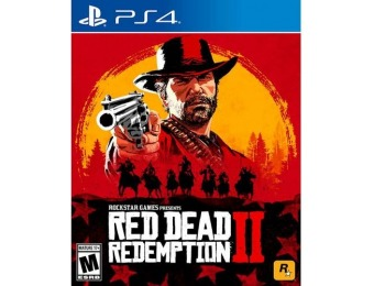 50% off Red Dead Redemption 2 - PlayStation 4