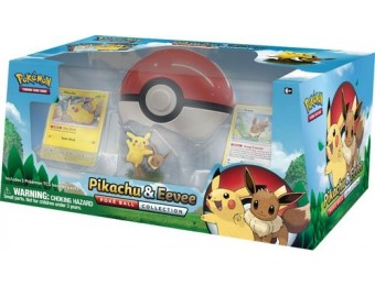 50% off Pokémon Trading Card Game: Pikachu & Eevee Collection