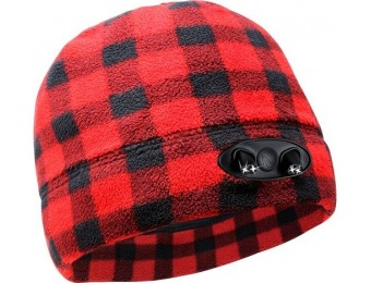 76% off Panther Vision POWERCAP 35/55 48-Lumen Fleece Beanie