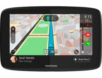 "$60 off TomTom GO 52 5"" GPS with Built-In Bluetooth, Lifetime Updates"