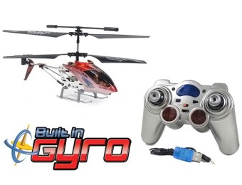 50% off Metal Raptor 500 3.5CH RC Helicopter