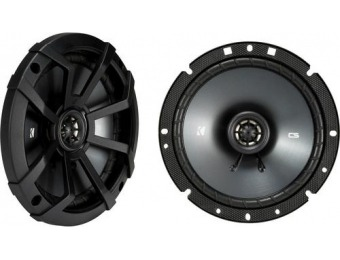 "55% off KICKER CS 6-3/4"" 2-Way Car Speakers (Pair)"