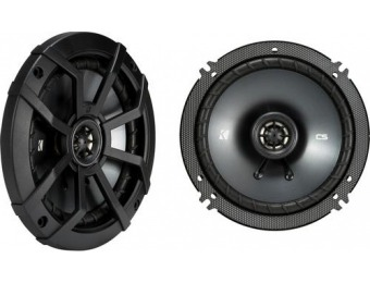 "55% off KICKER CS Series 6-1/2"" 2-Way Car Speakers (Pair)"