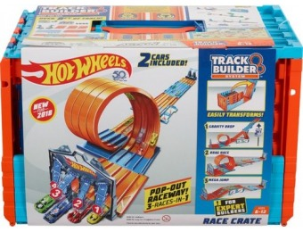 40% off Hot Wheels Track Builder System Race Crate