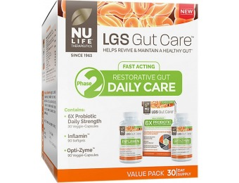 75% off LGS Gut Care Daily Care Kit