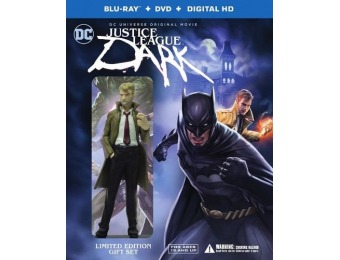67% off Justice League Dark [Deluxe Edition] Blu-ray + DVD