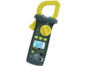 50% off General Tools DAMP60 AC/DC Auto Ranging Clamp Meter