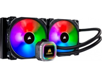 $22 off CORSAIR Hydro Series H115i RGB Platinum Liquid Cooling System