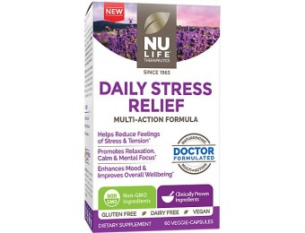 75% off Nu Life Daily Stress Relief