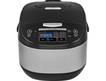 $60 off Insignia 20-cup Rice Cooker - Stainless Steel