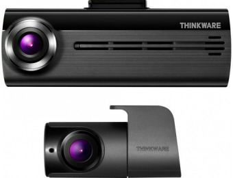 $60 off THINKWARE F200D Front and Rear Camera Dash Cam