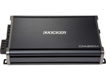 $100 off KICKER CX 600W Class AB Bridgeable Multichannel Amplifier