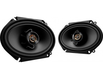 "55% off Kenwood Road Series 6"" x 8"" 2-Way Car Speakers (Pair)"