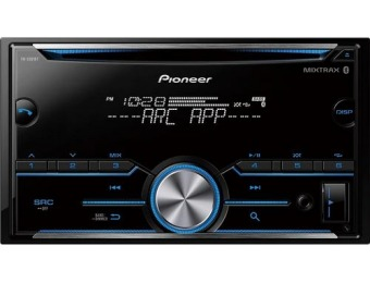 $75 off Pioneer Bluetooth In-Dash CD Receiver