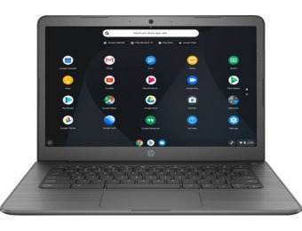 "$101 off HP 14"" Touch-Screen Chromebook - Intel Celeron, 32GB"