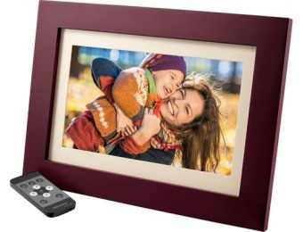 "$30 off Insignia 10"" Widescreen LCD Digital Photo Frame"