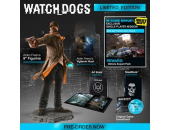 $97 off Watch Dogs Limited Edition - Xbox One