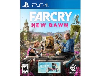 50% off Far Cry New Dawn - PlayStation 4