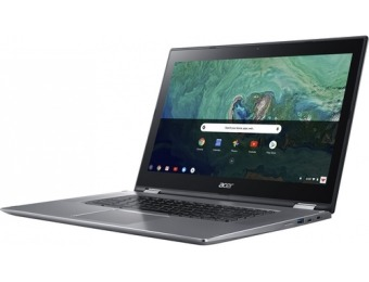 "$135 off Acer Spin 15 2-in-1 15.6"" Touch-Screen Chromebook, Refurb"