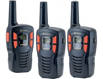 40% off Cobra MicroTALK 16-Mile, 22-Ch FRS/GMRS Radios (3-Pack)